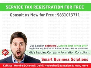 Service Tax Registration lowest Cost
